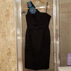 Maggy London black dress size 2 NWT